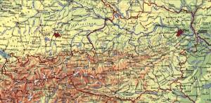 Landkarte-Österreich